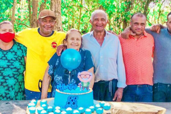 Seu Albertino Barros: 88 anos de amor e dedicação