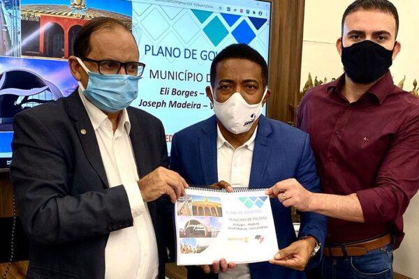 Léo Barbosa declara apoio ao Pastor Eli Borges para a prefeitura de Palmas