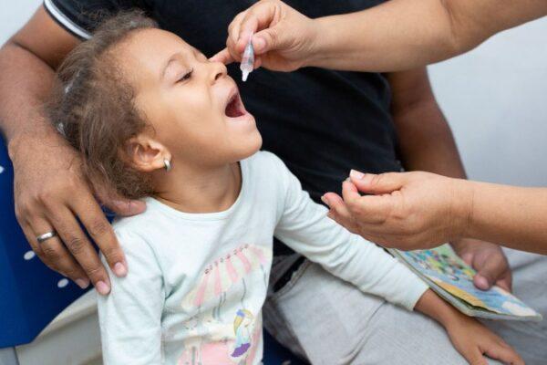 Dia D de vacinação contra Poliomielite acontece neste sábado, 17, em Palmas
