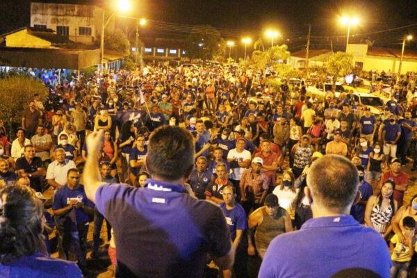 SANTA TEREZA: Mega Carreata leva multidão as ruas em prol de Antônio Campos e Donizete