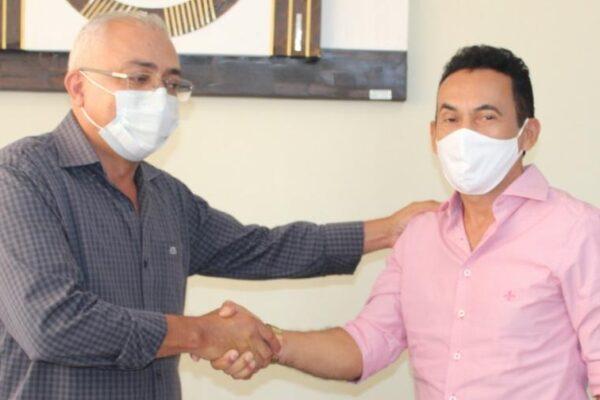 APARECIDA: Suzano Lino dá início ao processo de transição com prefeito Deusimar Amorim