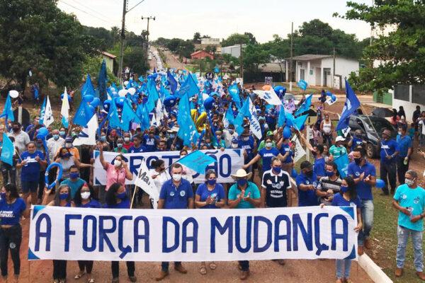 Antônio Campos e Donizete realizam maior caminhada de Santa Tereza