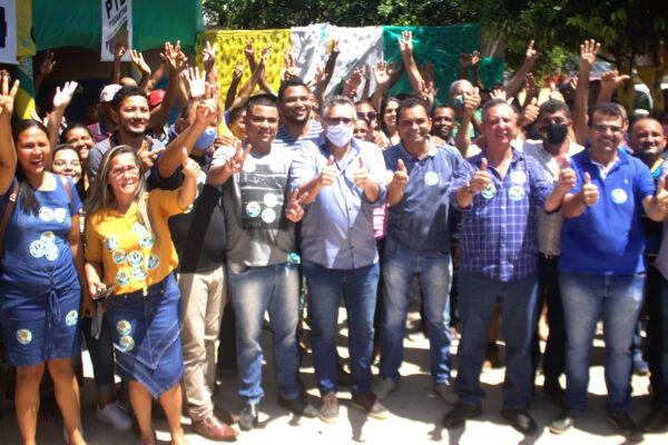 SÃO FÉLIX: Gilvan Ribeiro e Deusiano recebem apoio do deputado Antônio Andrade