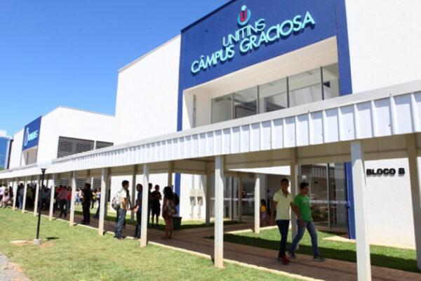 Unitins lança Vestibular 2021/1 com oferta de 640 vagas e novo curso de graduação em Palmas