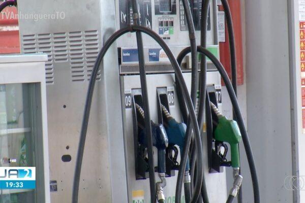 Gasolina volta a subir em Palmas e média de preços chega a R$ 4,80