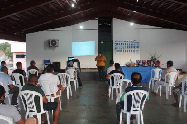Prevenção contra o câncer é tema de palestra do Novembro Azul em Aparecida do Rio Negro