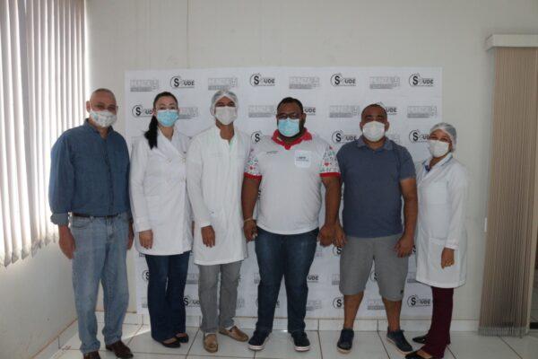 Ponte Alta do TO tem primeiros profissionais de saúde vacinados contra o coronavírus