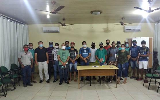 MATEIROS: Moradores participam de curso ofertado com parceria da Prefeitura