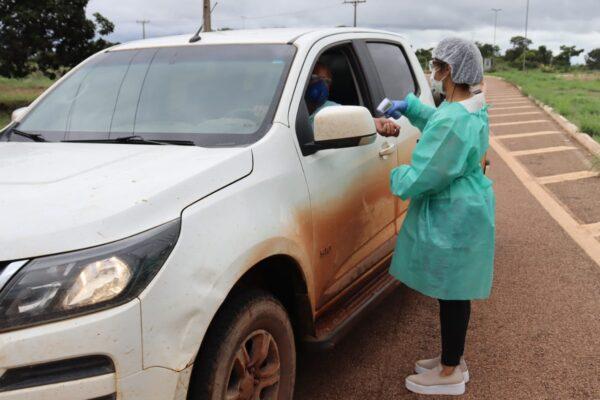APARECIDA: Prefeitura instala blitz sanitária na entrada da Cidade