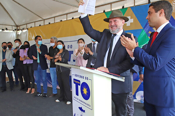 Governador Mauro Carlesse entrega nova sede ao Naturatins e promove abertura do sistema Sigam