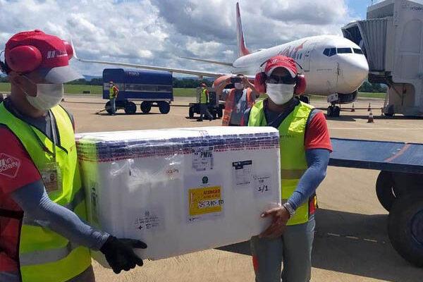 Tocantins recebe mais 3,5 mil vacinas AstraZeneca para combate à Covid-19