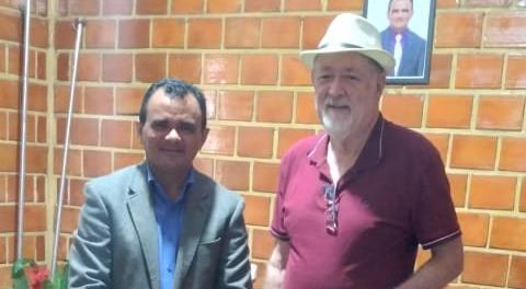 MATEIROS: Prefeito João Martins recebe visita do chefe de gabinete do senador Eduardo Gomes