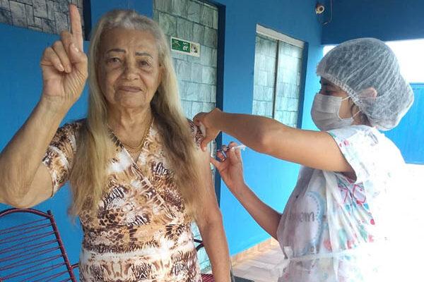 Mateiros inicia vacinação dos idosos das zonas urbana e rural