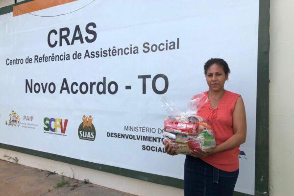 Municípios do Jalapão recebem cestas básicas adquiridas através de emenda de Léo Barbosa