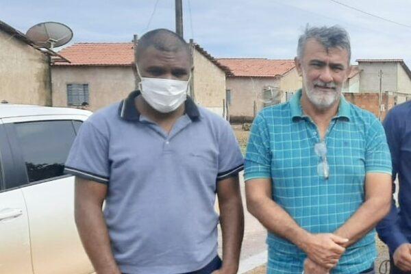 LAGOA: Prefeito Leandro Soares recebe visita do deputado Amélio Cayres