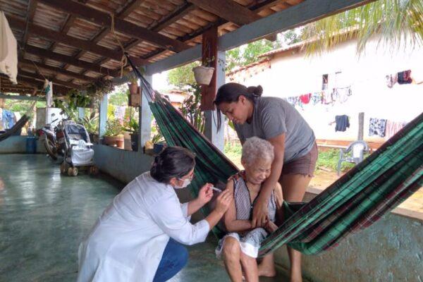 CORONAVÍRUS: Santa Tereza está entre os primeiros colocados em vacinação e tem apenas uma pessoa em tratamento