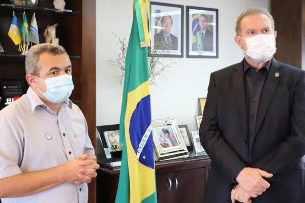 Governador Carlesse e prefeito de Porto Nacional asseguram abertura de UTIs e leitos clínicos no próximo dia 10