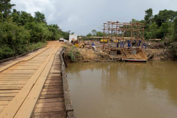 Governo do Tocantins começa construção da nova ponte sobre o rio Formiga