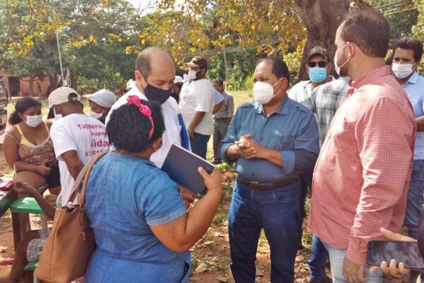Governo do Tocantins inicia entrega de alimentos para famílias da Comunidade Quilombola Barra do Aroeira