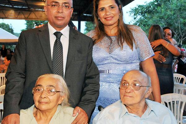 APARECIDA: Seu Zome é homenageado por vereadores e seu filho, ex-prefeito Deusimar