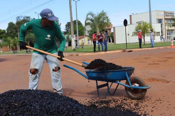APARECIDA: Quarta etapa da operação tapa-buracos é realizada pela Prefeitura