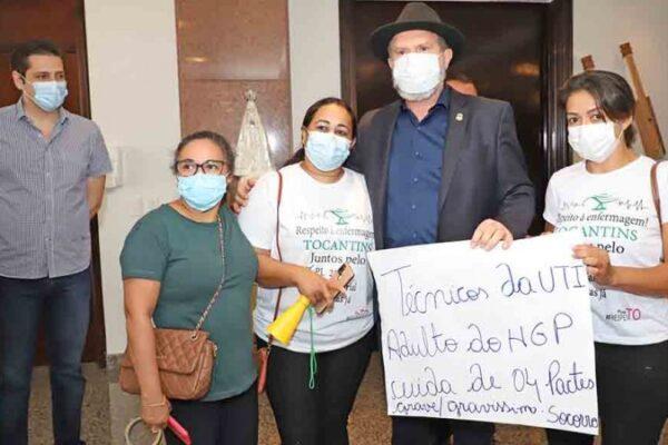 Carlesse apoia PL que fixa piso salarial e jornada de trabalho para a enfermagem