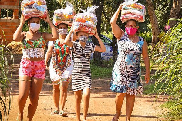Governo do Tocantins leva cestas básicas a mais de 3,6 mil famílias de assentamentos rurais no sul do Tocantins