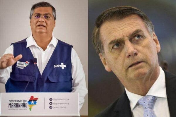 Bolsonaro é multado pelo Governo do MA por não usar máscara e provocar aglomeração