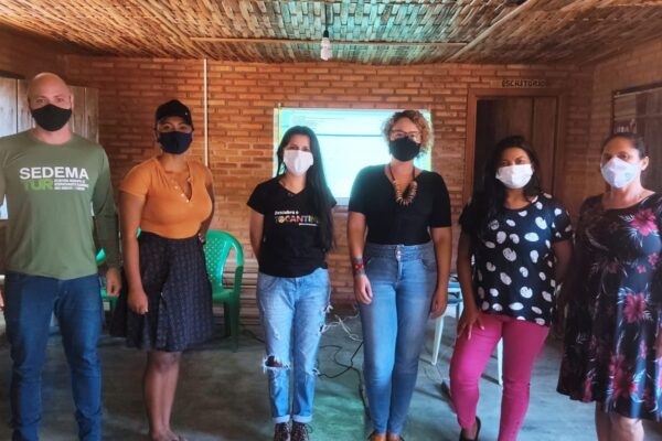 Comunidades quilombolas de Mateiros recebem ações para Projeto de Turismo de Base Comunitária