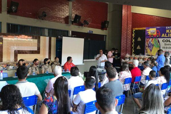 Vilmar comemora implantação de Colégio Militar em Colméia