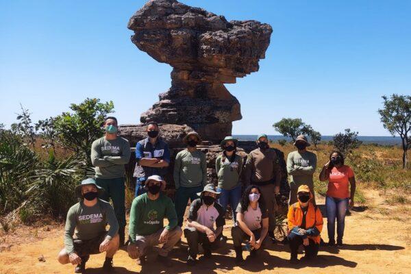 MATEIROS: Semana do Meio Ambiente tem início com visita à Pedra da Baliza