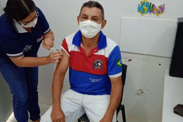Município de Santa Tereza amplia vacinação para pessoas sem comorbidades de 50 a 59 anos