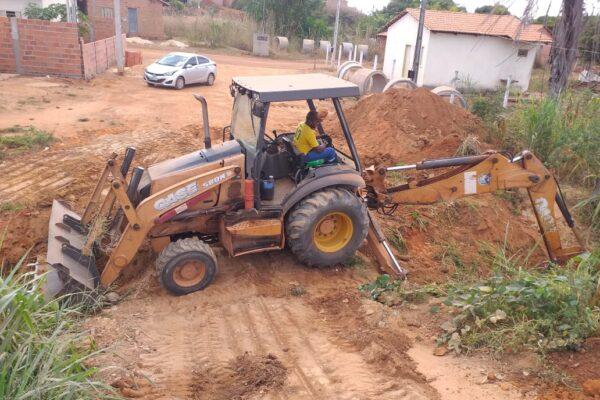 Prefeitura de Aparecida inicia execução de obras na cidade