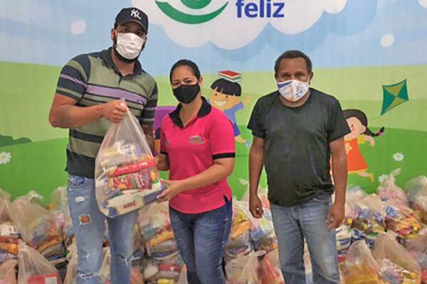 Governo do TO entrega, em 22 municípios tocantinenses, mais de 66 toneladas de alimentos