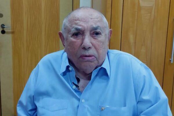 Ex-governador Siqueira Campos é homenageado em live pelo aniversário de 93 anos