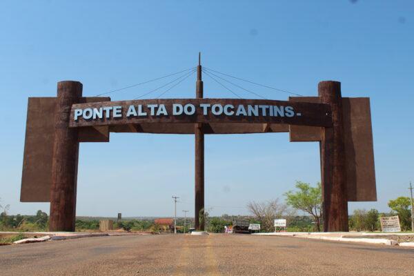 Portal de entrada de Ponte Alta do TO muda cenário de quem chega ao Jalapão