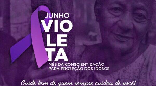 Município de Mateiros alerta para violência contra a pessoa idosa na Campanha Junho Violeta