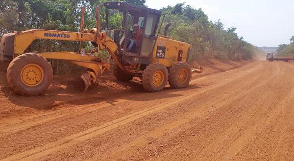 Governo do TO continua executando melhorias em rodovias não pavimentadas