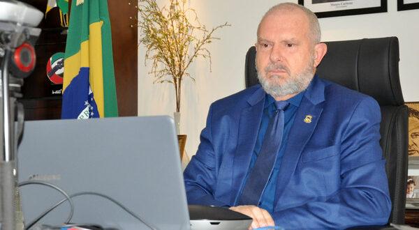 Governador Carlesse participa de reunião com ministro da Saúde