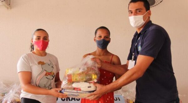 Prefeitura de Lagoa do Tocantins recebe 200 cestas básicas do Governo do Estado