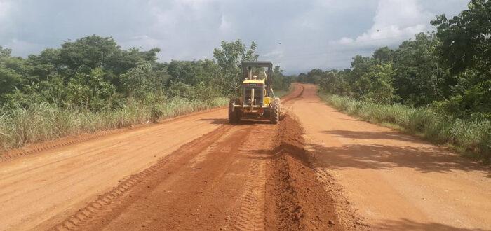 Governo do Tocantins faz manutenção de rodovias na região sudeste