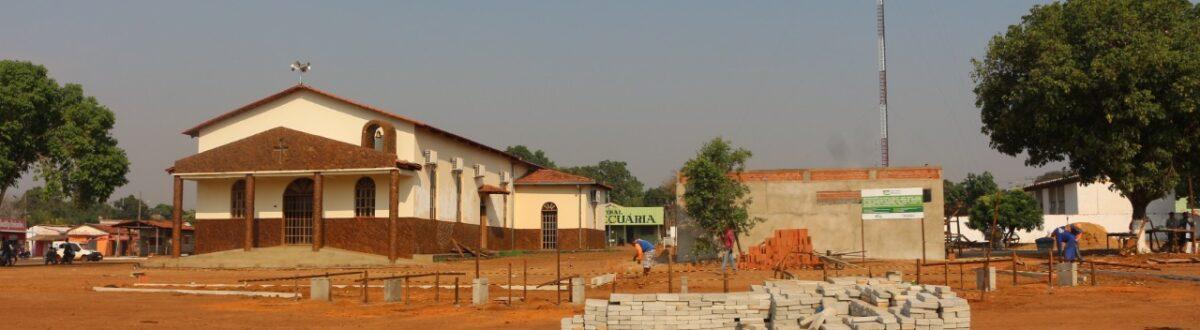 APARECIDA: Praça José Eurico começa a receber infraestrutura