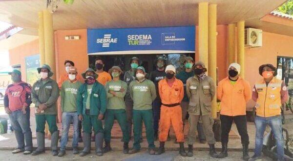 Brigada Municipal de Mateiros recebe capacitação para combate a incêndios florestais