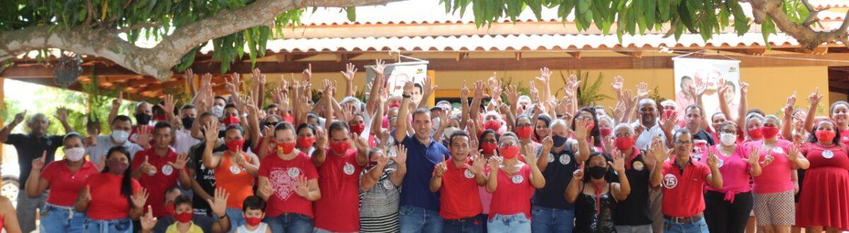 APARECIDA: Deputado Federal Vicentinho Júnior declara apoio a Suzano e Assis