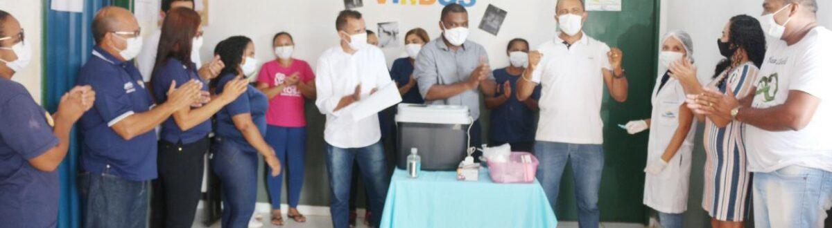 Lagoa do TO inicia vacinação contra Covid-19 nos profissionais da Saúde
